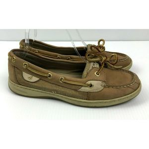 Sperry Top-Sider Angelfish Boat Shoes Gold Shimmer